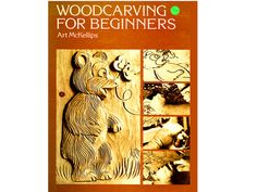 Woodcarving for Beginners Book By Art McKellips 1977 Please see pics.......