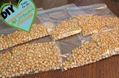 DIY Microwave Popcorn Prepped for Kids