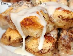 Sinful Cinnamon Roll Breakfast Bake | RecipeLion.com