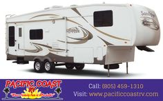 Welcome to Pacific Coast RV. Whether you are a local resident, or are here visiting our beautiful Central Coast, you will enjoy a low haggle and informative experience at Pacific Coast RV. Call: (805) 459-1310
