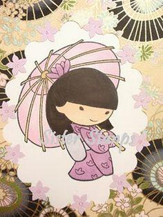 Asian card...idea!  www.SisterStamps.com