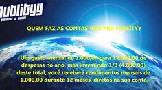 ECONOMIZE 2/3 DE QUALQUER DESPESA  INVISTA 1/3 DO TOTAL DE QUALQUER DESPESA ANUAL E GANHE OS OUTROS 2/3  ABRA JÁ SUA CONTA  www.publityy.com/?igespr   CONTATOS Skype: santoisaac Zap: 09181568498 E-mail:santoisaac@gmail.com
