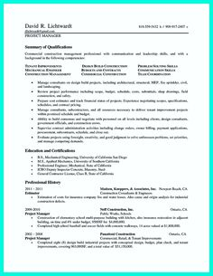 Cool Construction Worker Resume Example To Get You Noticed Check