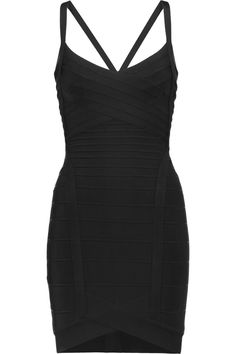 HERVE LEGER Bandage Mini Dress. #herveleger #cloth #dress