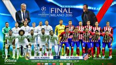 UCL - Prediksi Real Madrid vs Atletico Madrid 29-05-2016 5/29/2016 01:45 Minggu  GMT+7/WIB http://www.90bola.cc/berita/UCL-Prediksi-Real-Madrid-vs-Atletico-Madrid-29-05-2016-132507.html