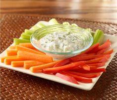 Creamy Cucumber-Dill Dip
