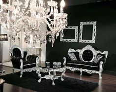 black and silver living room. Black and silver room Melissa Kac  melissakac on Pinterest