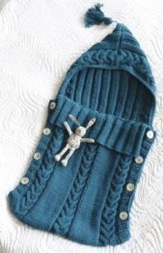 Baby Knitting Patterns Cocoon Hand knitted baby cocoon baby sleeping bag by twinklesparkleknits Baby Knitting Patterns, Knitting For Kids, Baby Patterns, Knitting Projects, Crochet Projects, Crochet Patterns, Free Knitting, Vintage Knitting, Creative Knitting