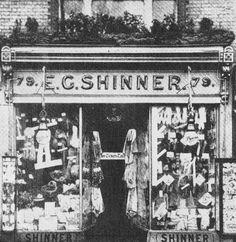 Shinner Shop on Sutton High Street Sutton Surrey England in the Sutton England, Sutton Surrey, Old London, Local History, Childhood Memories, Vintage Shops, Nursing, Street, Places