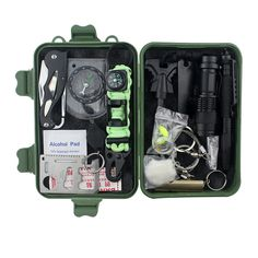 18 In 1 Emergency Gear Items Outdoor Camping Equipment Hiking Sos Multi Tools Pocket Survival Kit , Find Complete Details about 18 In 1 Emergency Gear Items Outdoor Camping Equipment Hiking Sos Multi Tools Pocket Survival Kit,Emergency Gear,Camping Equipment,Survival Kit from Other Camping & Hiking Products Supplier or Manufacturer-Yiwu Trieagle Optical Electronic Co., Ltd.