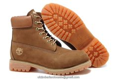 UK Timberland Men Icon 6 Inch Premium Brown Boots £ 79.19