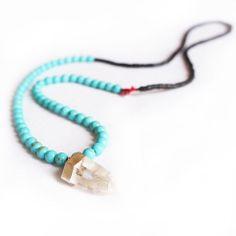 Kiuari Turquoise Necklace - Artful Venture