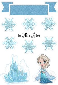 Frozen Cake Topper, Cake Toppers, Elsa Cakes, Preppy Stickers, Pop Up Box Cards, Bullet Journal Writing, Disney Frozen Elsa, Disneyland, Frozen Party