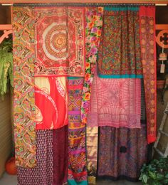 SIGN of the GYPSY QUEEN  Handmade Gypsy Curtains by BabylonSisters, $225.00