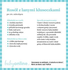 Przepisy dla niemowlaka - Zupki dla niemowlaka | Strona 19 | Baby online