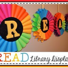 Read Library Display #Create2Educate #sweepstakes entry. Enter your own project for a chance to win a $50 gift card to Michaels. Learn more: http://spr.ly/6030Zj6j
