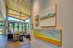 Living Room Hall | 2015 Street of Dreams | 'Sandhill Crane' Built by Westlake Development - Luxury Custom Home Builders Portland, OR