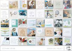 Scrapbook page. I li