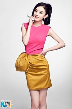 China Entertainment News: Search results for Zhao liying Ethnic Fashion, Indian Fashion, Korean Fashion, Latest Fashion, Pretty Outfits, Cool Outfits, Respect Girls, Zhao Li Ying, China Girl