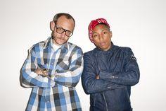 Terry Richardson & Pharrell Williams