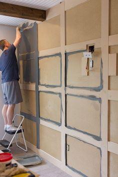 Master Makeover: DIY Paneled Wall | Jenna Sue Design Blog #diningroomideasdiy