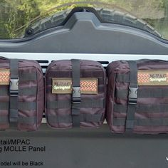 FJ Cruiser Rear Door Folding MOLLE Rack Combo $321.50 $259.99http://www.springtailsolutions.com/shop/fj/fj-cruiser-rear-door-folding-molle-rack-combo/