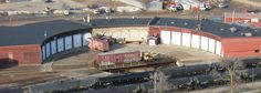 CN/WC/Soo Line Roundhouse - Stevens Point, WI. .. · Stevens Point, Wisconsin, United States ..