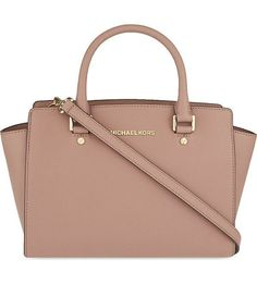 Michael Kors Michael Kors - Dillon Saffiano Leather Satchel in Dusty Rose michael kors selma medium metallic leather satchel Women's Natural Medium Selma Topzip Michael Kors Clutch, Outlet Michael Kors, Cheap Michael Kors, Handbags Michael Kors, Michael Kors Brown Handbag, Michael Kors Purse Crossbody, Micheal Kors Bags, Michael Kors Backpack, Michael Kors Jewelry
