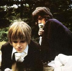 Marianne Faithfull and Mick Jagger //  (dated 1964-70)