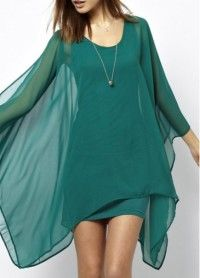 Charming Round Neck Long Sleeve Woman Dress for Summer - Online Shop! : Online Shop!