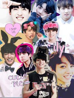 Jungkook tumblr collage