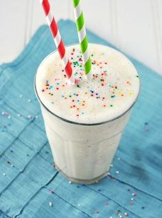 36 Little Hacks That Will Make Parenting So Much Easier | Put sprinkles on everything.  They'll turn any healthy smoothie or juice into a fun-filled endeavor.  Here's a recipe for homemade rainbow sprinkles that are free of food coloring and corn syrup.