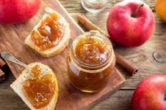 15 Easy + Delicious Fall Canning Recipes is part of Early Fall recipes - early fall harvest Homemade Gravy Recipe, Homemade Apple Butter, Chutneys, Christine Ferber, Home Canning Recipes, Slow Cooker Apples, Stuffing Recipes, Butter Recipe, Fall Recipes