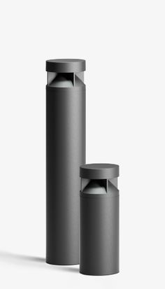 BEGA LED system bollards are a modular system that enables the combination of luminaire heads and luminaire tubes with various additional functions. Lighting Concepts, Lighting Design, Minimal Design, Modern Design, Coffee Machine Design, Deco Led, Bollard Lighting, Id Design, Cylinder Shape