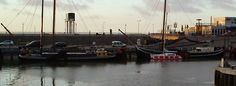 Met de catamaran in Harlingen - winterzeilen