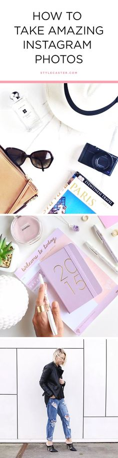 8 Tips & Tricks to help you style your Instagram photos like a Pro Blogger | @stylecaster | Instagram styling + photography ideas