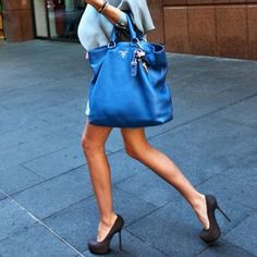 Blue Handbags on Pinterest   Blue Fashion, Blue Purse and Blue Bags