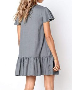 5fe45c20b8e Unbranded  Women s Sleeveless Loose Plain Dresses Casual Short Dress with  Pockets at Amazon Women s Clothing store   afflink  affiliate