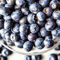Blueberries are truly nature's candy, and very healthy for you! Anthocyanins, a flavonoid found in blueberries, are powerful antioxidants. 1 cup of blueberries contains many vitamins and minerals including vitamin C, vitamins B6 and K, iron, calcium, copper, and zinc. #health #wellness #blueberries #nutrition