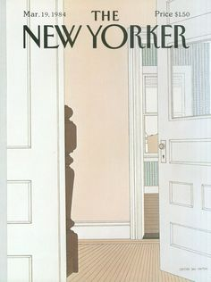 The New Yorker - Monday, March 19, 1984 - Issue # 3083 - Vol. 60 - N° 5 - Cover by : Gretchen Dow Simpson