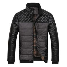 Exclusive Quilted Puffed Bomber Jacket – U R B A N S T O X.... Love the style... Sweater Jacket, Bomber Jacket, Motorcycle Jacket, Moda Men, Field Jacket, Gentleman Style, Quilted Jacket, Mens Clothing Styles, Mantel