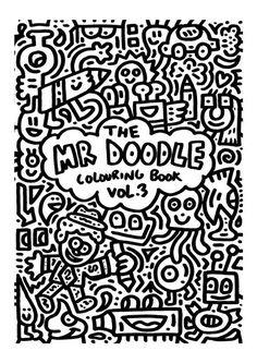 Mr doodle colouring book vol 3 Name Coloring Pages, Doodle Coloring, Coloring Books, Doodle Art Name, Doodle Art Drawing, Doodle Online, Doddle Art, Mandala Doodle, Pop Art Wallpaper