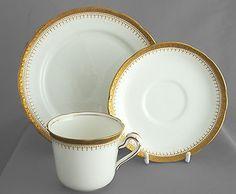 Grosvenor vintage china cup, saucer & plate trio, Ye Olde English, FREE post UK