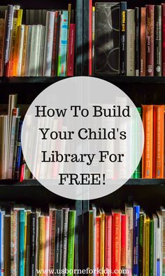 Work from home with the kids and build your child's library for FREE! Click through to find out how.