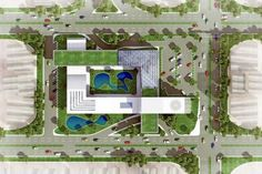 Concept Models Architecture, Architecture Model Making, Zaha Hadid Architecture, Landscape Architecture Design, Architecture Graphics, Architecture Visualization, School Architecture, Site Plan Design, School Building Design