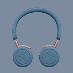 Fancy | Slate Blue Commute Wireless Headphones
