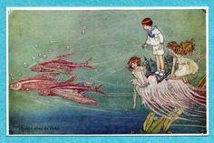 Ida Rentoul Outhwaite postcard | eBay