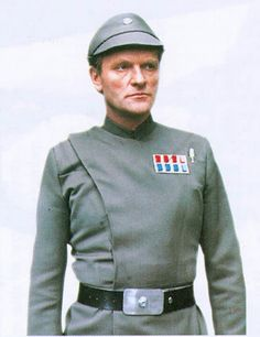 General Veers (Julian Glover) is Pycelle! He's also been in Harry Potter, Indiana Jones, Dr. Who, Avengers show, etc. I wonder if he's a nerd at heart. Julian Glover, Disfraz Star Wars, Imperial Officer, Galactic Republic, Star Wars Rpg, Star Wars Costumes, Star Wars Images, Star War 3, The Empire Strikes Back