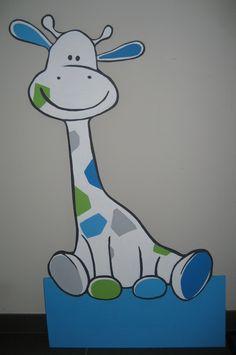 geboortebord giraf - Google zoeken