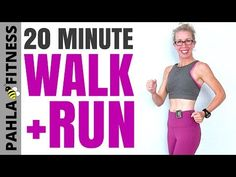 20 Minute Indoor WALKING + RUNNING with 30-Second Intervals | Getting in the Best Shape of Your Life - YouTube
